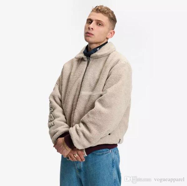 Giacca invernale da uomo in lana di entrambi i lati Giacca in cashmere resistente all'abbronzatura e alla moda