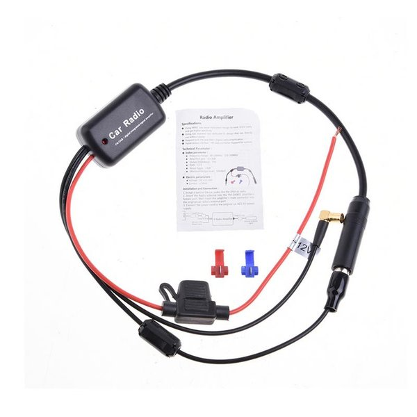 2019 2 In 1 Car Radio FM Antenna DAB Receiver DAB Signal Amp Amplifier  Booster For Boat Car Vehicle Boat 660mm FM Amplifier SMB Plug From  Amprime_car,