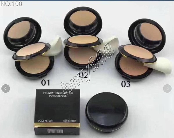 best selling Factory Direct Free Shipping ce Powder Double Layer Long Lasting Comfort SPF 25 Natural Makeup Powder Matte Brighten Powder 30g