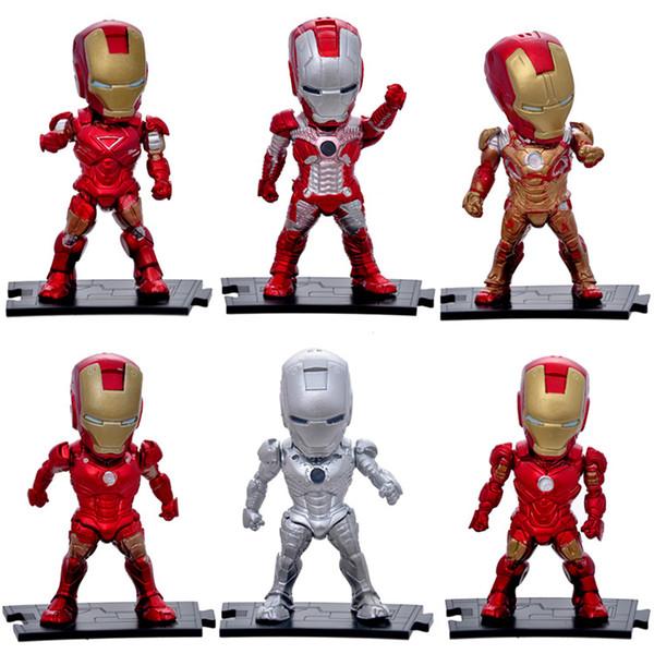 Vingadores: endgame homem de ferro figuras liga marvel vingadores super hero personagens modelo de ação de vinil figuras de brinquedo melhor presente
