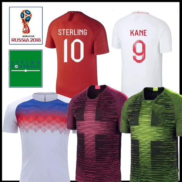 online store 8b687 c5db5 2019 2018 England DELE ALLI World Cup Soccer Jerseys KANE RASHFORD VARDY  Jersey LINGARD STERLING STURRIDGE Football Shirt From Jersey_counter,  $16.25 ...