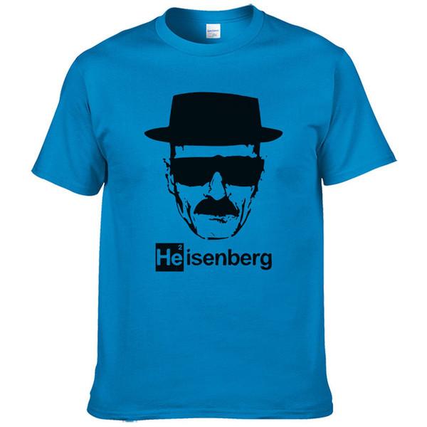 Heisenberg T Shirt Men Casual Cotton Short Sleeve Breaking Printed Mens T-shirt Fashion Cool T Shirt For Men #253