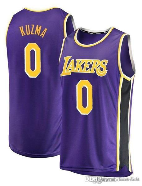 new products b9c4a b1f8a 2019 23 James Lakers Jersey 2019 City Los Angeles James Lakers Basketball  Jerseys 2 Lonzo LeBron Ball 0 Kuzma 14 Brandon Kyle Ingram Youth Black From  ...