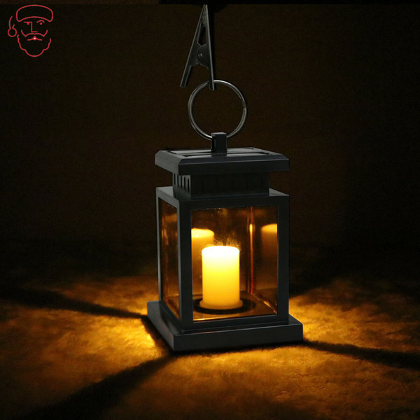 Candle Table Lantern Hanging Light Waterproof Garden Solar LED Lamp Garden Lamp Decor Outdoor Yard Ornaments