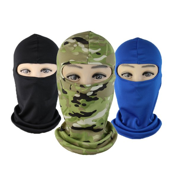Whole Sale Outdoor Multi Purpose Masks Windproof Caps Fishing Cycling Mountaineering Hiking Muzzle Dust proof Soft Mask Tactical Gadgets