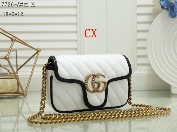 bolsa pequena série clássica das mulheres da moda mãe quente Lady cadeia de saco a granel mulher elegante ondulado saco bolsas de ombro bolsa de couro T69