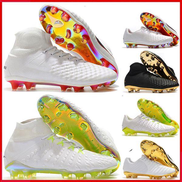 2019 NEW mens Hypervenom Phantom III DF soccer cleats Tiempo Legend VII FG soccer shoes Magista Obra II football boots outdoor chuteiras