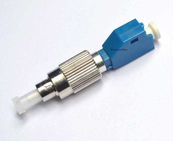 5pcs FTTH FC Homme à LC Femelle Adaptateur Fibre Mode Fibre Optique Connecteur