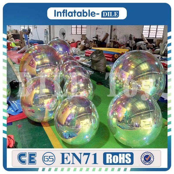 Factory price and high quality inflatable mirror ball, Inflatable Mirror Balloon,Inflatable floating mirror balloon for sales