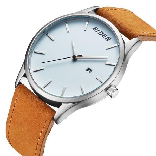 2019 New Arrival Simple design Men Watches Fashion Leather Clock Analog Quartz Sport Watch Casual Black Clock Relogio Wristwatches For Men