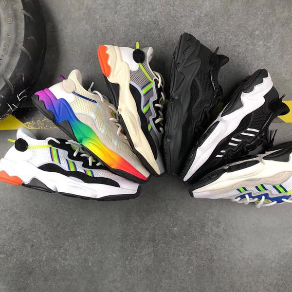 2019 700 Wave Runner Mauve EE9614 Correr marcas famosas Zapatos Hombres Mujeres B75571 Color de costura Zapatillas de deporte de calidad superior EE. UU. 5-11.5 L35