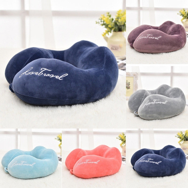 Pleasing Soft Memory Foam U Shaped Travel Pillow Neck Support Head Rest Car Cushion White Couch Pillows Throw Pillows With Words From Xiaomei886809 4 83 Caraccident5 Cool Chair Designs And Ideas Caraccident5Info