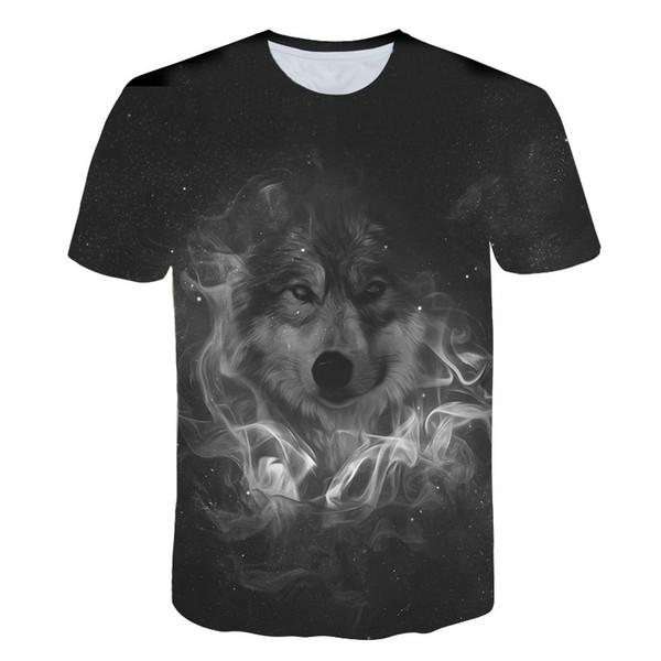 2019 Male 3d T Shirt Cool Men Summer Hip Hop Tees Fashion Skull Hand Full Print Shirt Cool Men Present T Shirt
