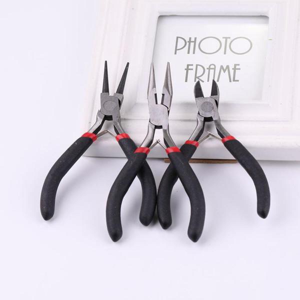 best selling DIY Jewelry Making tools Handmade Tools Diagonal Pliers Long Nose pliers 3 PCS LOT