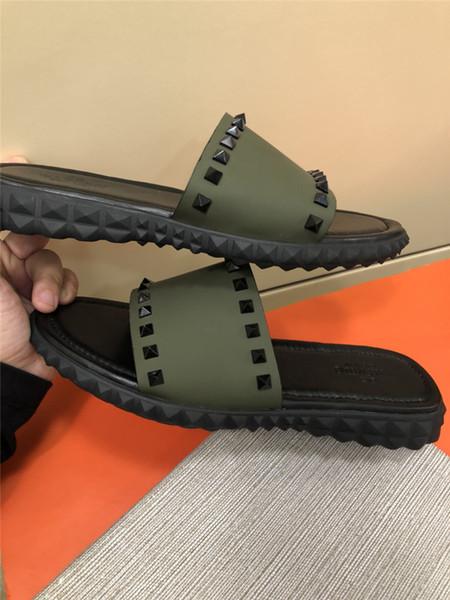 Chaussures Sandalias 2019ss Lujo Hombre Piscina Venta Caliente Deslizamiento Ocio Compre Zapatillas En De Moda Hombres Medusa Diseñador Playa ALj54R