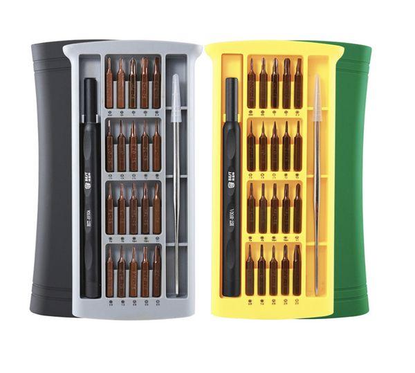 22 en 1 juego de destornilladores de precisión para destornilladores magnéticos para iPhone Samsung xiaomi, teléfono, tableta, reloj, kit de herramientas de reparación