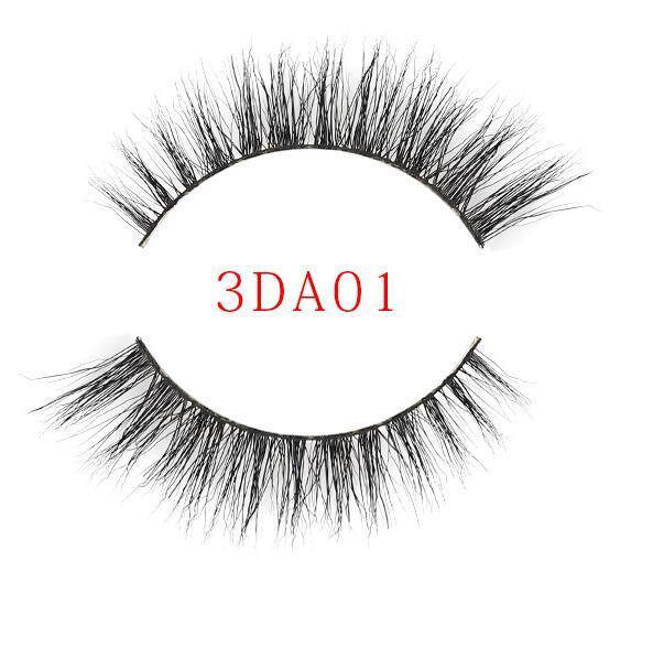3D Mink Eyelashes Eyelashes Messy Eye lash Extension Sexy Eyelash Full Strip Eye Lashes By real mink hair