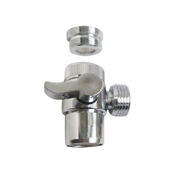 1 Unid Faucet Diverter Utility Cobre Duradero Portador Portátil Adaptador de Válvula Adaptador para Lavadora Desvío de Agua