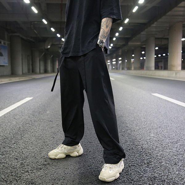 Новые твердые мульти карманные уличные брюки мужские брюки Hiphop Joggers повседневная верхняя одежда прямые брюки длинные брюки Pantalones Hombre