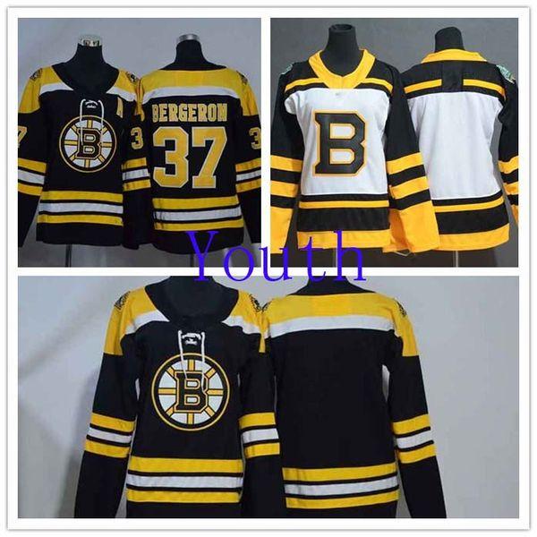 super popular 0fb83 b0618 2019 Youth Boston Bruins 37 Patrice Bergeron Black Home NHL Jerseys Boys  Blank White 2019 Winter Classic Stitched Hockey Jersey From Angeliajerseys,  ...