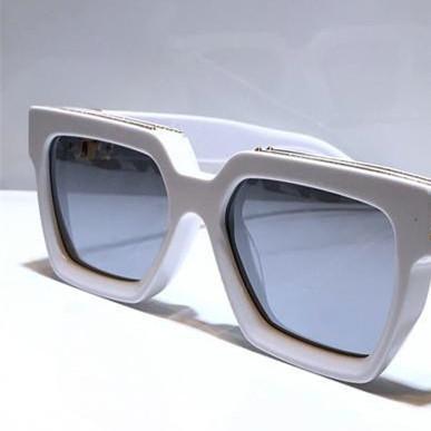 oro bianco con lente a specchio argento