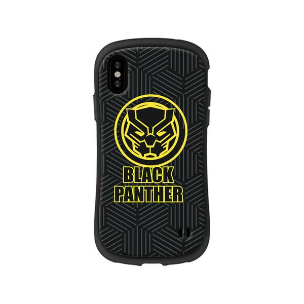 b13dad582f1 Caja resistente del teléfono celular de las panteras negras para el iphone  X 8 7 6