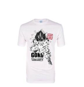 Dragon Ball Z Adult T-Shirt Herren Goku Saiyan offiziell lizenziert brandneu