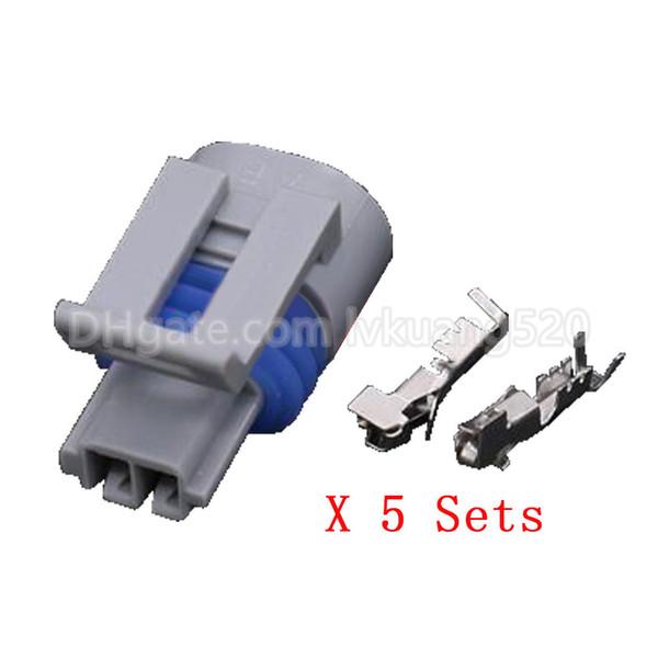 5 Sets Automotive Connector 2 pin waterproof connector DJ7023Y-1.5-21 automotive sensor plug