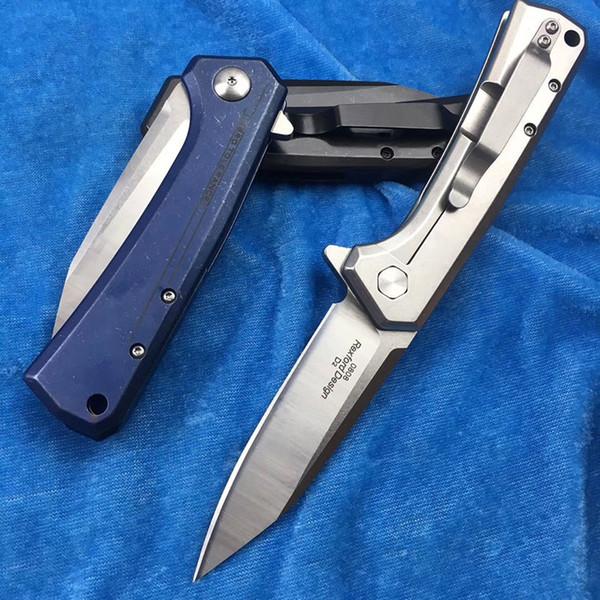 Sıfır Tolerans ZT0808 Bıçak Rulman hızlı açılış Cep Katlanır Bıçak D2 Blade Tüm çelik kolu Kamp Survival Avcılık bıçaklar edc aracı