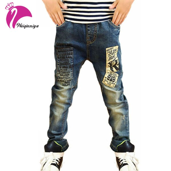 Children Jeans For Boys Skinny Fit Korean Children's Jeans,Baby Boys Pants,Kids Jeans For Kids Trousers Free Shipping