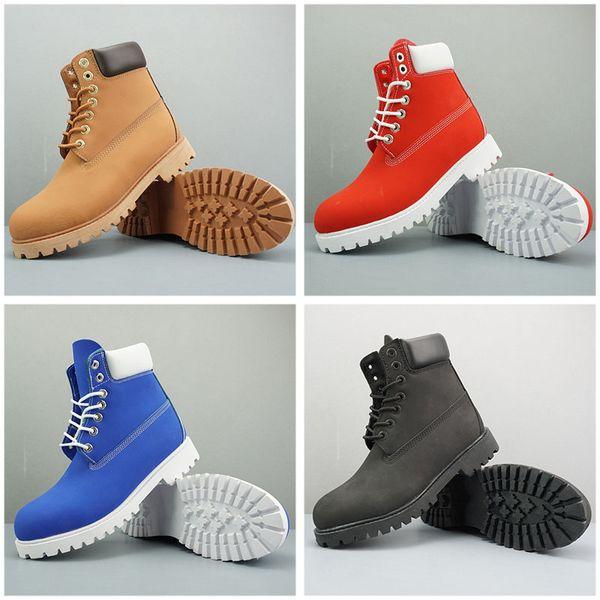 Bottes de travail de sécurité à bout en acier Chaussures de sport Rouge Blanc Hiver Baskets TBL femmes bottes d'hiver De luxe Designer bottes 36-45
