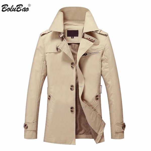 bolubao new men autumn jacket fashion british style brand clothing windbreaker warm jacket coat male outerwear coat - from $29.54