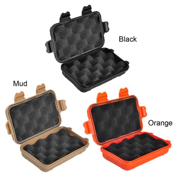 Outdoor EDC Waterproof Box Sport Gear Shockproof Waterproof Seale Box Wild Survival Storage Box 3 Colors