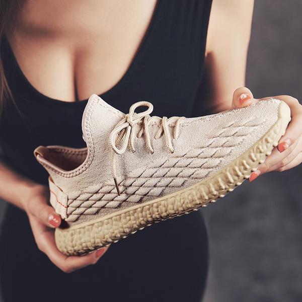 Männer und Frauen Luxus heißer Verkauf explosive Kokosnuss Schuhe atmungsaktiv fliegen Weben Freizeitschuhe koreanische Freizeitschuhe Sommer net breathabl