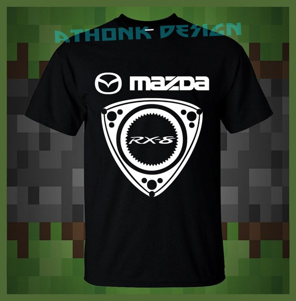 MAZDA RACING RX-8 MENS T-SHIRT Men Funny O Neck Short Sleeve Cotton T-Shirt New Fashion Print Free Shipping