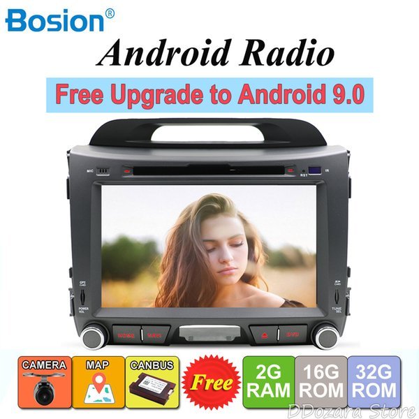 For KIA Sportage 2011-2015 Android 8.0 2 din car dvd player radio stereo gps navigation wifi map rear view camera