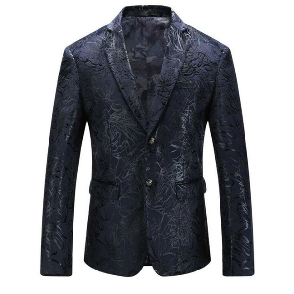 Hot 2018 New Products Large Size Men's Suits Europe and America Fashion Suits Owners Wind Men's Jackets Free Shipping