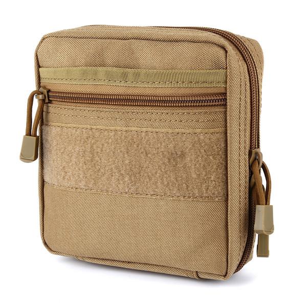 Équipement tactique universel EDC extérieur sac durable Molle Sac d'accessoires tactique Waistpack Mag Pouch Accueil Sacs de rangement