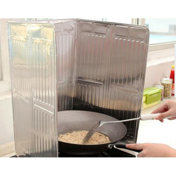 Cuisine de cuisson Poêle huile Splash Screen Cover Anti Splatter Guard Shield