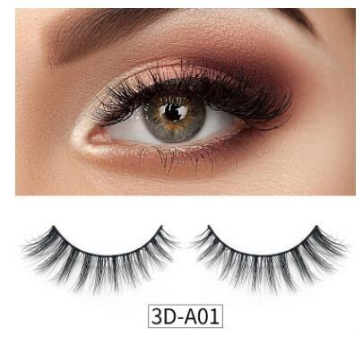 30 style Mink 3D false eyelashes pure handmade natural and comfortable thick style DHL free shipping
