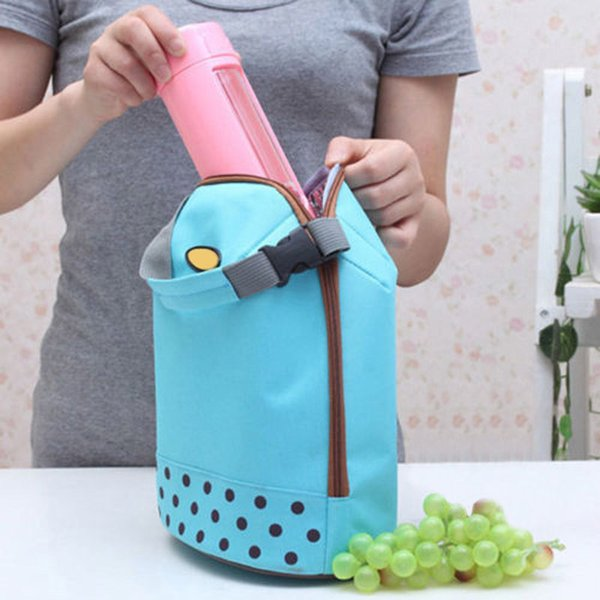 Portable Cooler Tote Insulated Canvas Lunch Bag Thermal Food Picnic Bento Lunch Bag Fa$b Women Bag