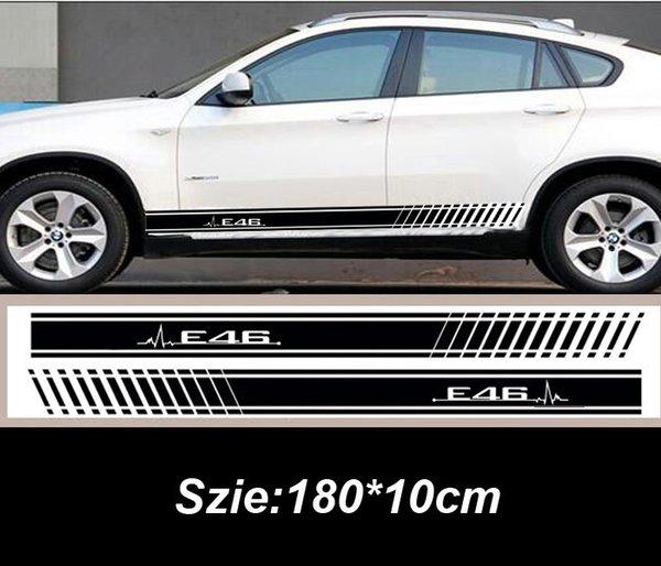2019 Lastest Design Car Side Body Sticker For Bmw E46 E36 E39 E90 E60 E92 From Ldyou1990 2009 Dhgatecom