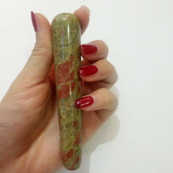 Blume grüner Stein