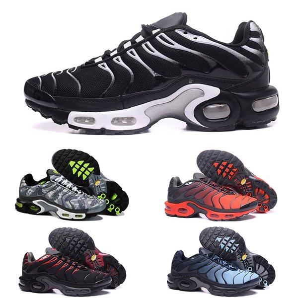 Zebra designer shoes TN Plus TRIPLE BLACK sport shoes Casual shoes For designer sneakers Outdoor multicolor Walking sports Running Sneakers