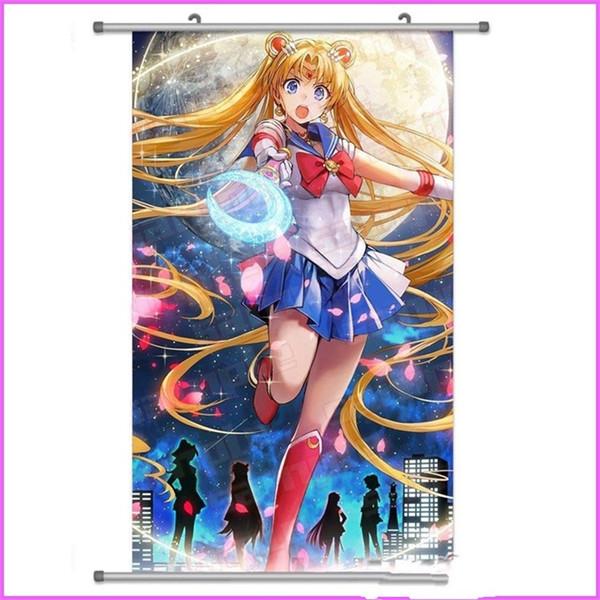 Bande Dessinée Arbre Sailor Moon Dessin Tissu Peinture Périphérie Suspendue Photo Japonais Anime Vente Chaude Belle Recherche Plusieurs Styles étudiant