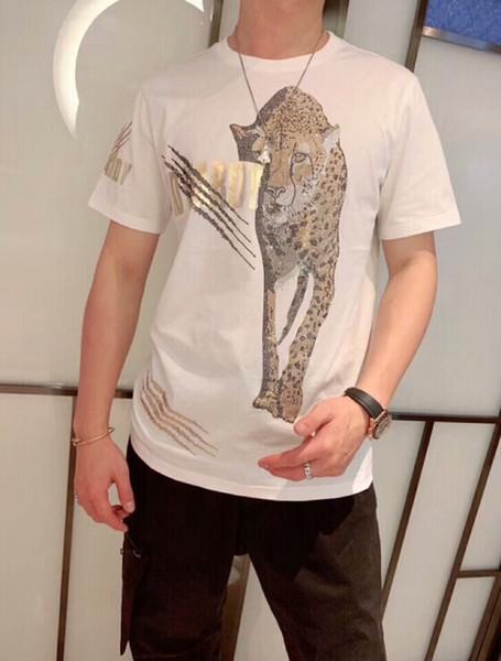 ol Man jogging suitmen diseño de diamantes de lujo Camisetas de moda camisetas de hombre camisetas divertidas de algodón de marca tops y camisetas.