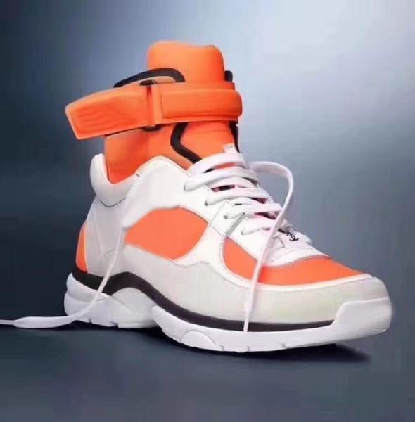 Yeni Hakiki deri Yassı Tasarımcı sneakers erkek kadın Klasik Rahat Ayakkabılar python kaplan arı Çiçek Işlemeli Horoz Aşk sneakers35-41