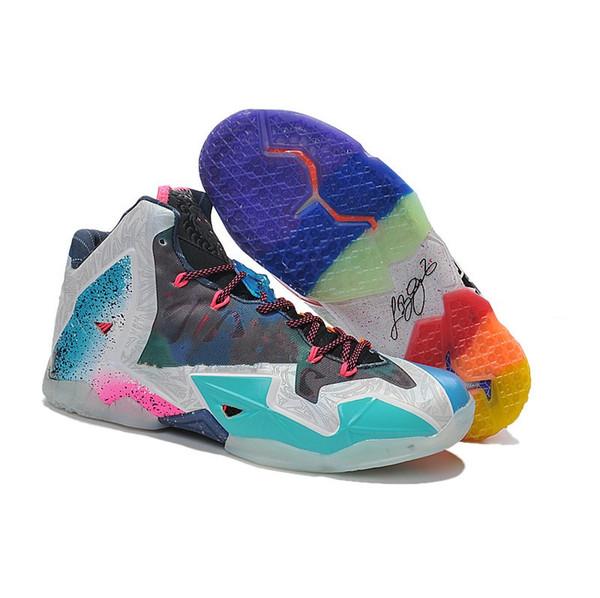 Barato nuevo lebron 11 XI zapatos de baloncesto para hombre en venta 11s MVP Christmas BHM Oreo juvenil niños Generación zapatillas con caja original