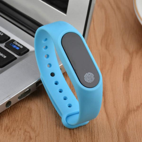 41b8dfb0873d Pulsera Inteligente Xiaomi Miband M2 Pulsera Inteligente Reloj Inteligente  Monitor De Ritmo Cardíaco Bluetooth Smartband Salud Fitness Banda ...