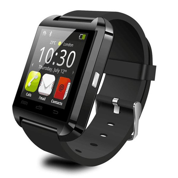Smart Wearable Watch U8 Wireless Bluetooth Touchscreen Remote Camera Smart Companion Watch for Android IOS Phone